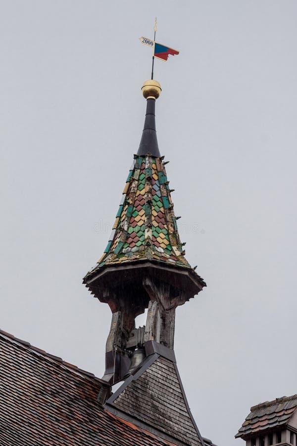 Campanary Stein am Rhein Zwitserland royalty-vrije stock afbeeldingen