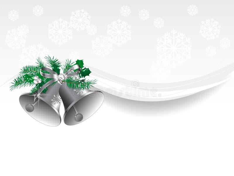 Campane di Natale illustrazione di stock