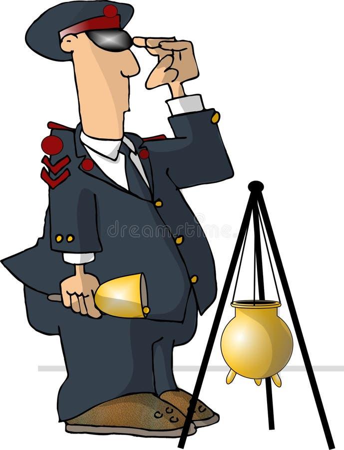 Campanero de Bell del almacén grande stock de ilustración