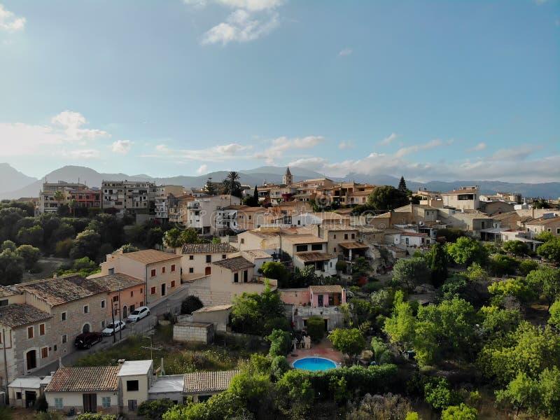 Campanet πόλη, νησί Majorca, Ισπανία στοκ φωτογραφία
