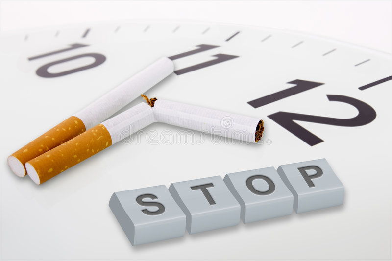 Campanha anti-fumaça fotografia de stock royalty free