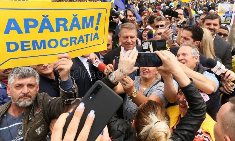 Campanha de elei??es parlamentares europeia - Rom?nia imagens de stock royalty free