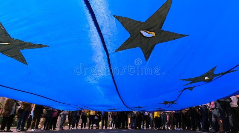 Campanha de elei??es parlamentares europeia - Rom?nia imagem de stock royalty free