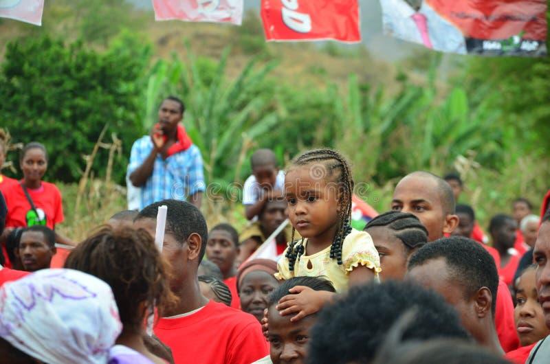 Campanha politica de Cabo Verde fotos de stock royalty free