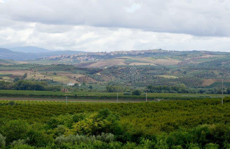 Campania italiana di vita rurale immagini stock