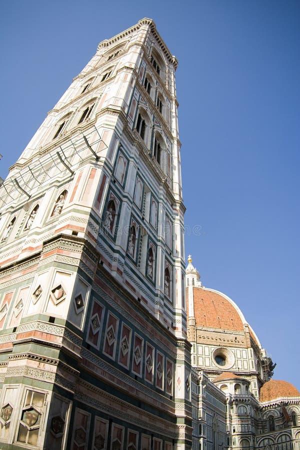 Campanil de Giotto - torre de Bell fotos de archivo libres de regalías