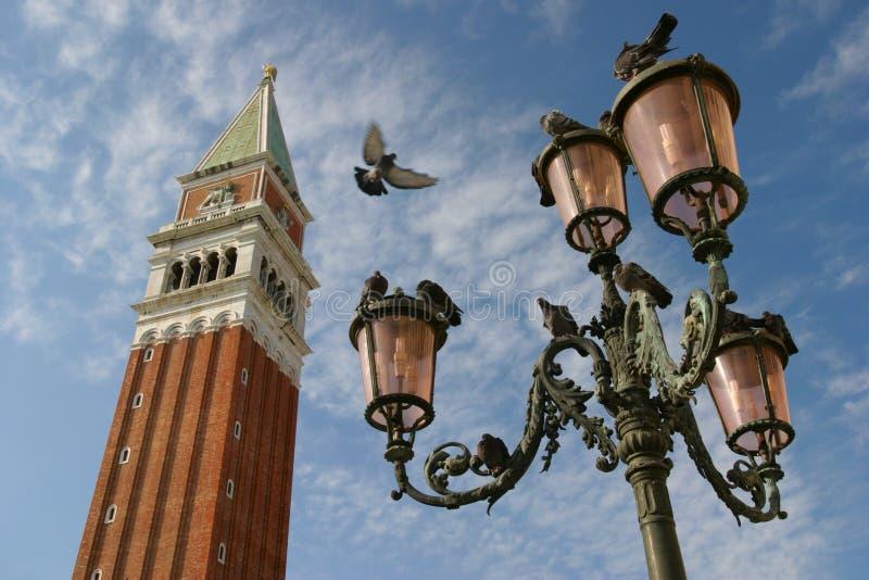 campanile royaltyfria bilder