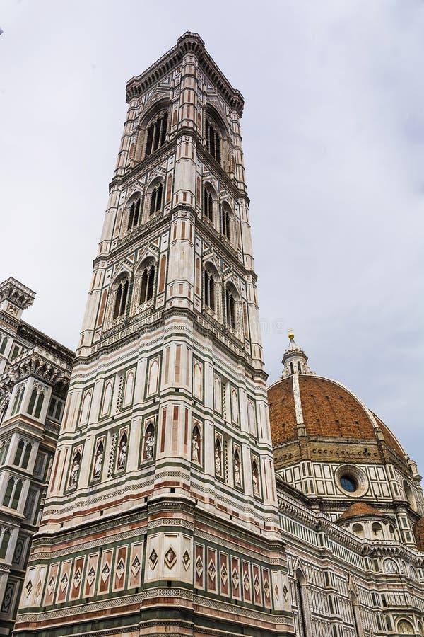 campanile del duomo fiore Φλωρεντία Ιταλία Μαρία santa Φλωρεντία Ιταλία στοκ εικόνα