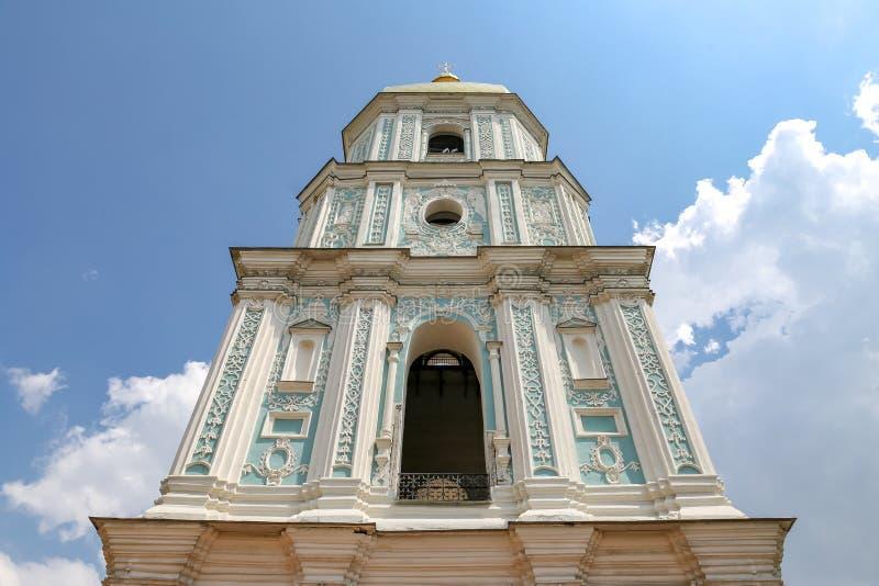 Campanile del san Sophia Cathedral a Kiev, Ucraina fotografie stock
