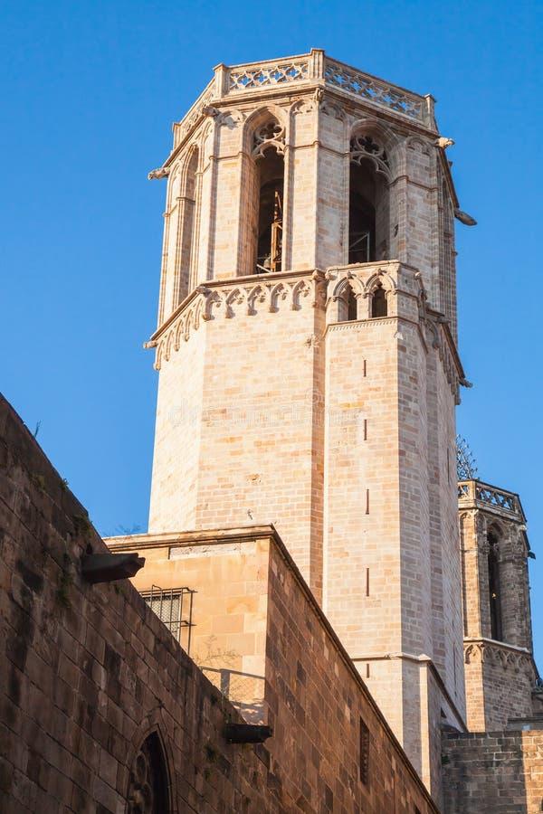 Campanile della cattedrale di barcellona spagna for Spagna barcellona