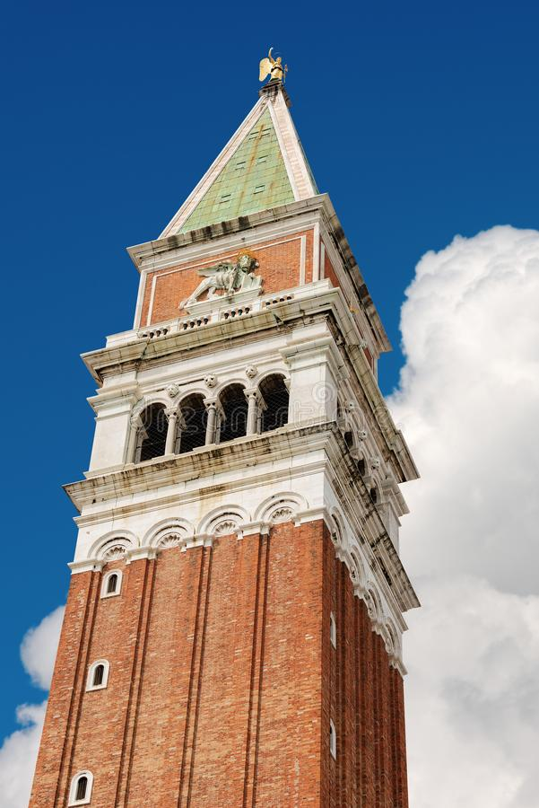 Campanile di圣Marco - Venezia意大利 免版税库存照片