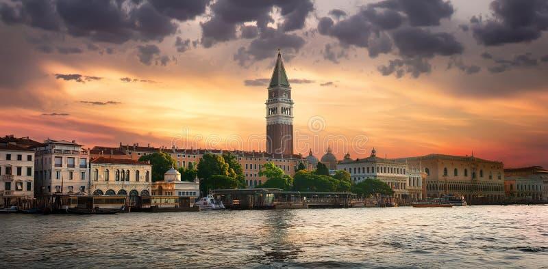 campanile Di ducale palazzo SAN Βενετία marco στοκ εικόνες