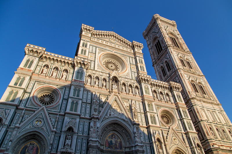 Campanile di Giotto di Firenze immagini stock