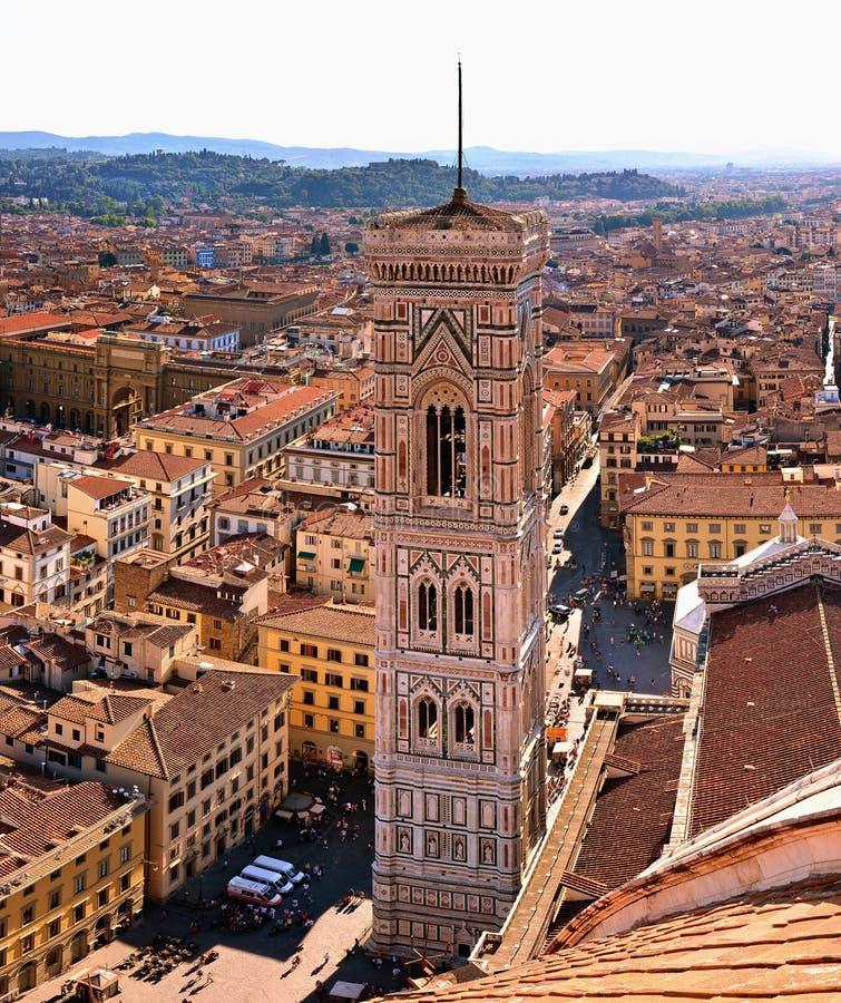 Campanile di Giotto Piazza del Duomo, Firenze royalty free stock images