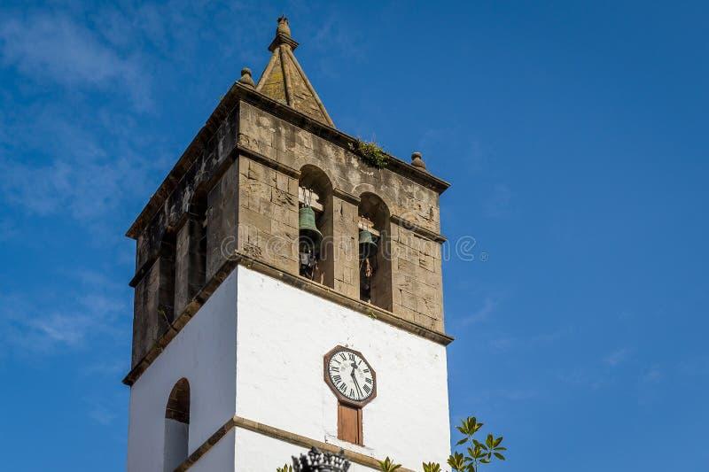 Campanile di Icod, Tenerife fotografie stock libere da diritti