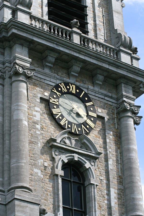 Campanile di Mons, Belgio immagine stock