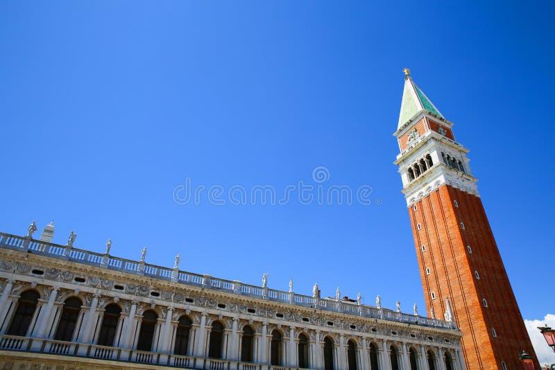 Campanile di San Marco royaltyfri bild