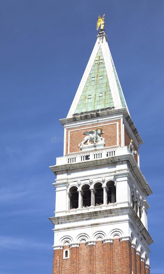Campanile i Venedig, Italien royaltyfri foto