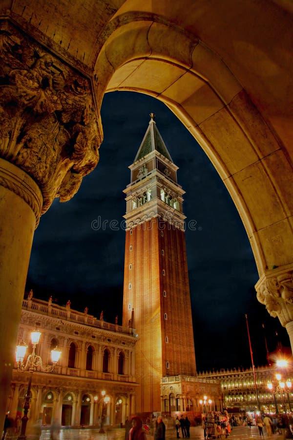campanile marco san square 库存照片