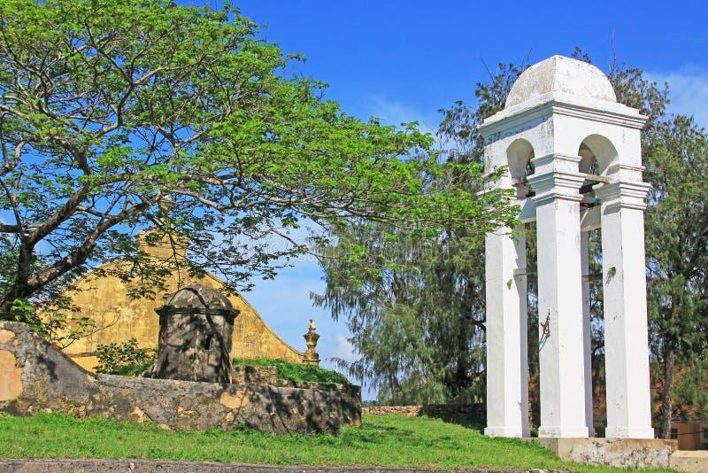 Campanile olandese forte di Galle - patrimonio mondiale dell'Unesco dello Sri Lanka fotografia stock