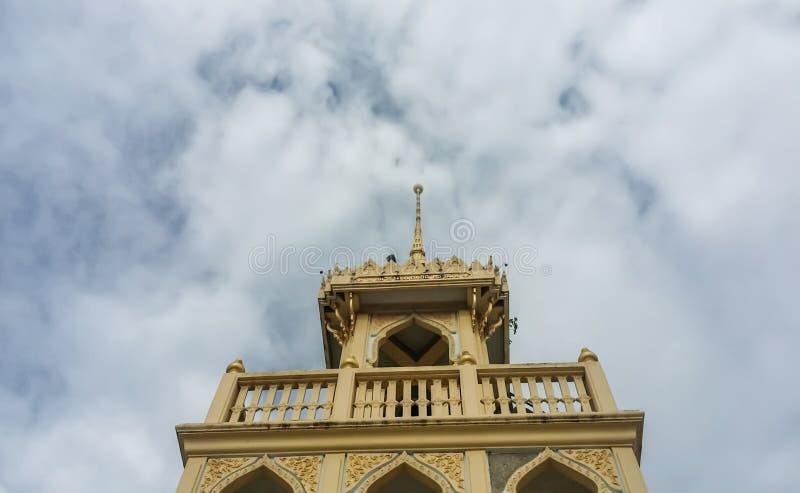 Campanile in tempio di peng del beng fotografie stock