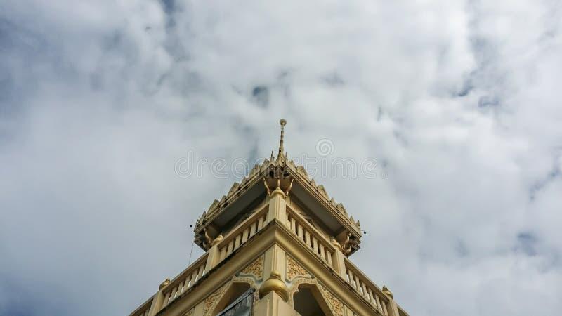Campanile in tempio di peng del beng fotografie stock libere da diritti