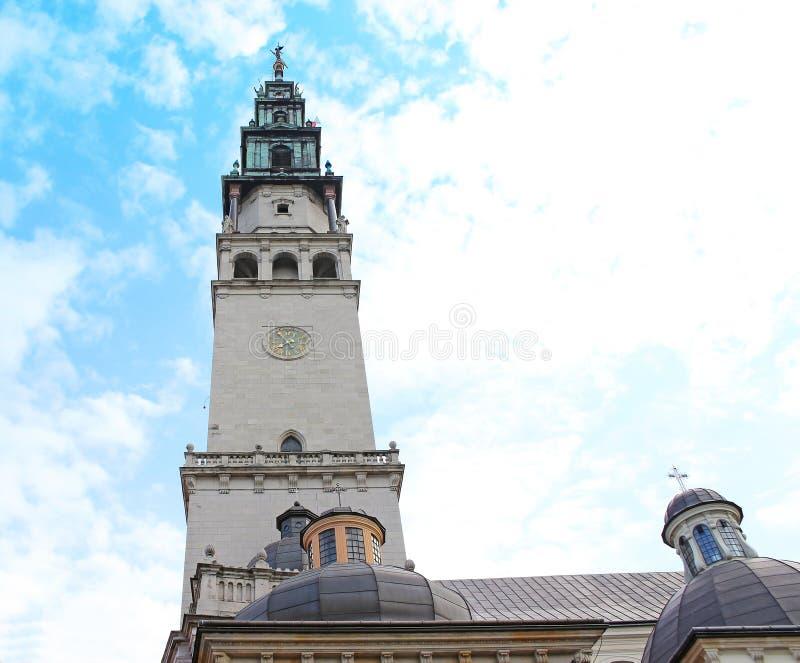 Campanille Of Jasna Gora Monastery. Czestochowa, Poland Stock Photos