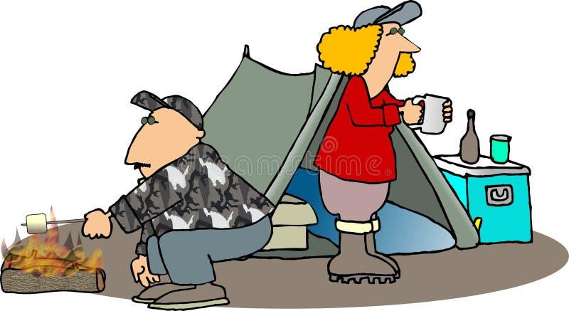 campare stock illustrationer