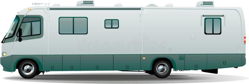 camparerv-vektor stock illustrationer