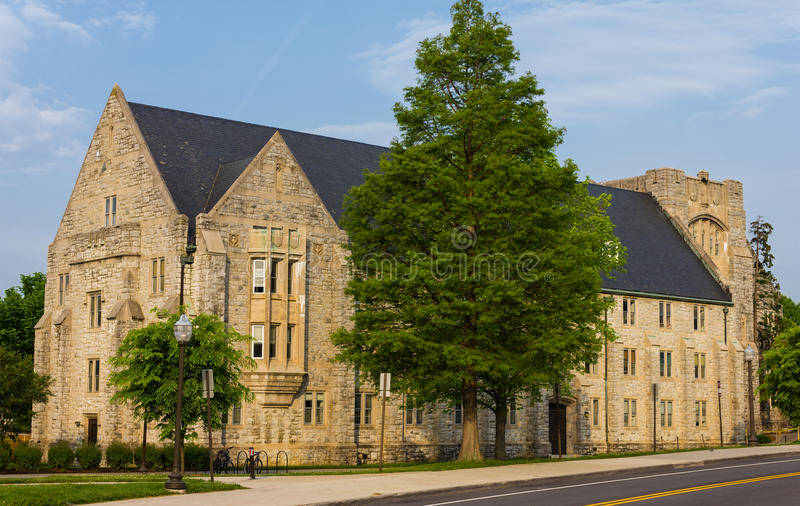 Campbell Hall-East Wing fotografia stock