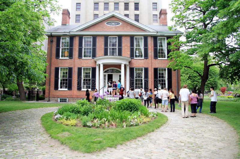 Download Campbell House Museum editorial stock photo. Image of open - 25248623