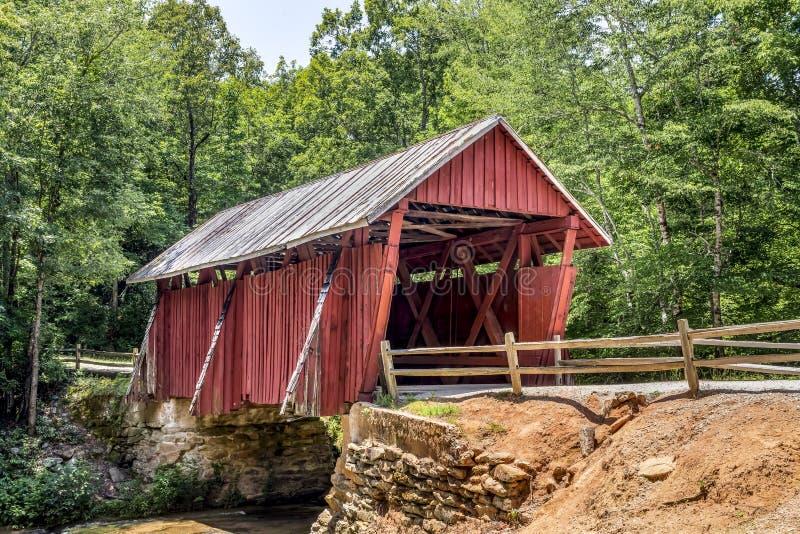 Campbells Zakrywał most - Południowa Karolina zdjęcia stock