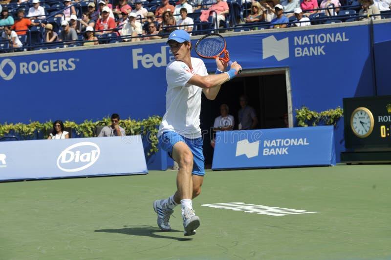Campeão olímpico de Murray Andy (5) foto de stock