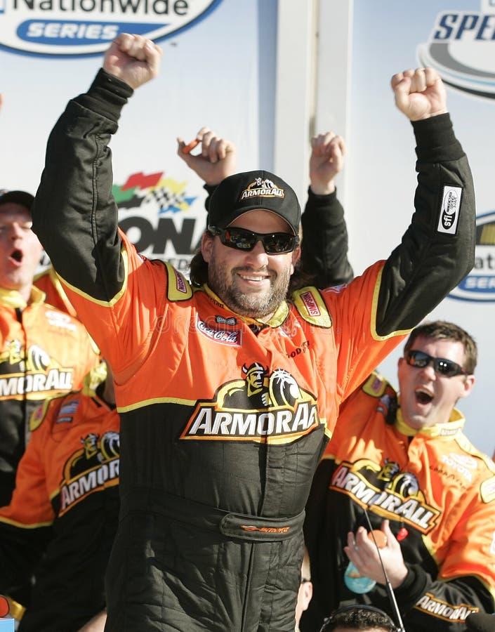 Campeão Tony Stewart de NASCAR foto de stock royalty free