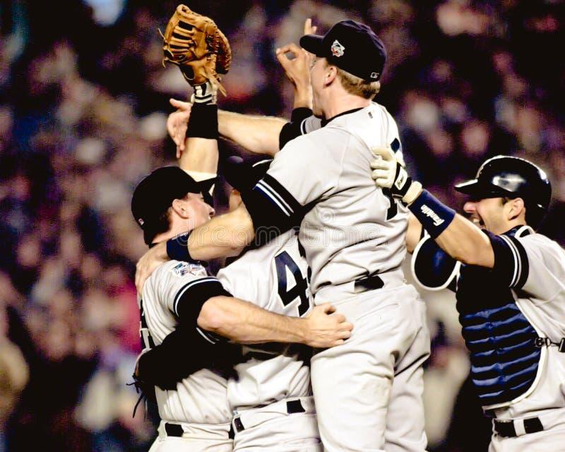 2000 campeões de world series, New York Yankees foto de stock royalty free