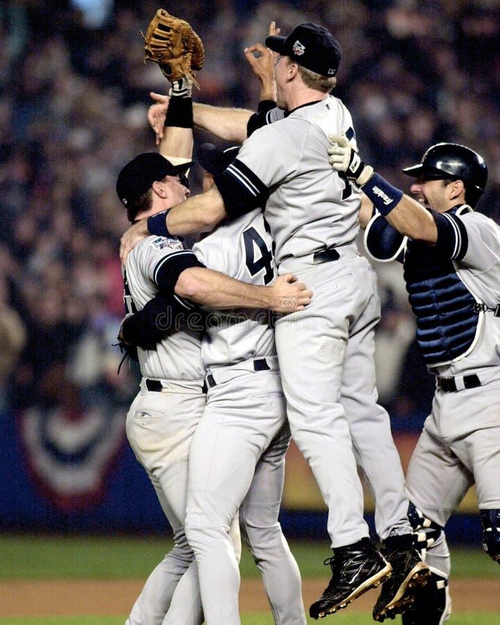 2000 campeões de world series, New York Yankees imagem de stock
