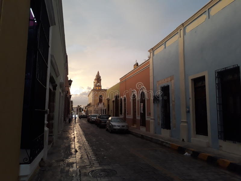 Campeche obrazy royalty free