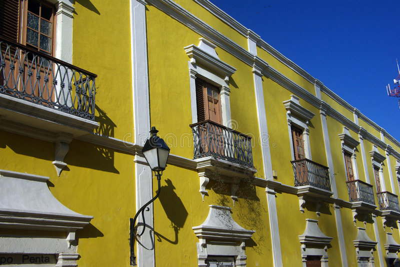 Campeche in mexico stock photography