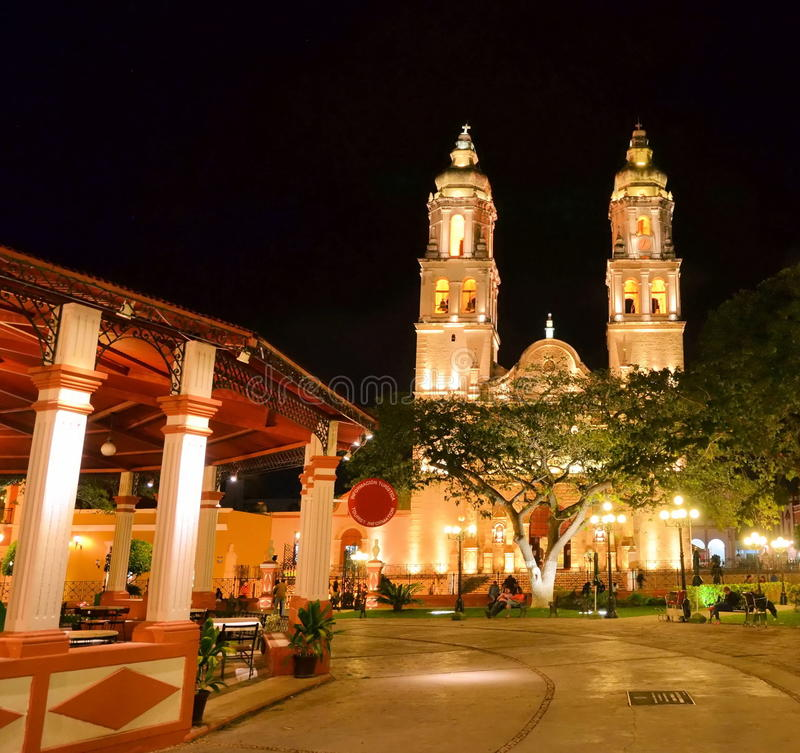 Campeche, Mexiko stockfoto