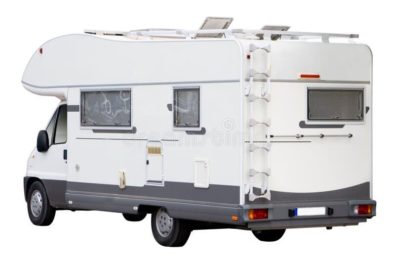 Campeggiatore Van fotografia stock