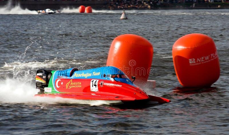 Campeonato 2009 del mundo del Powerboat de la fórmula 1 imagen de archivo libre de regalías
