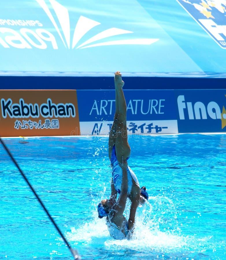 campeonato 2009 do mundo 13FINA imagem de stock