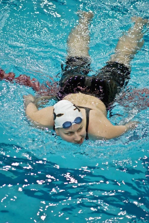 Campeonato 2010 da natação do russo imagem de stock royalty free