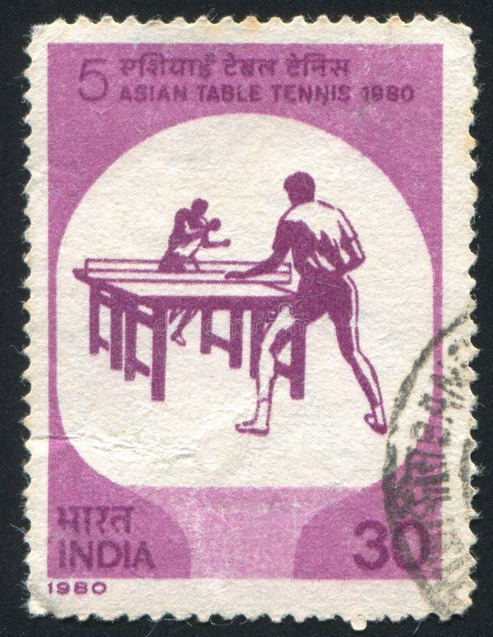 Campeonato asiático de los tenis de mesa imagenes de archivo