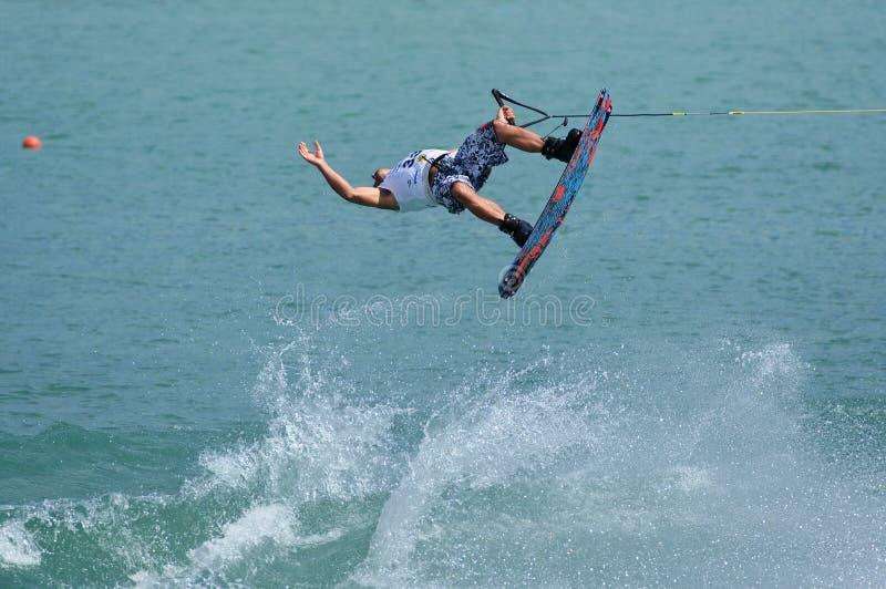 Campeonato de Wakeboard do mundo foto de stock royalty free