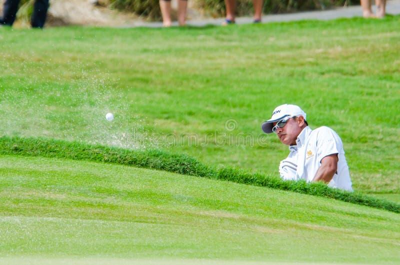 Campeonato 2014 del golf de Tailandia fotos de archivo