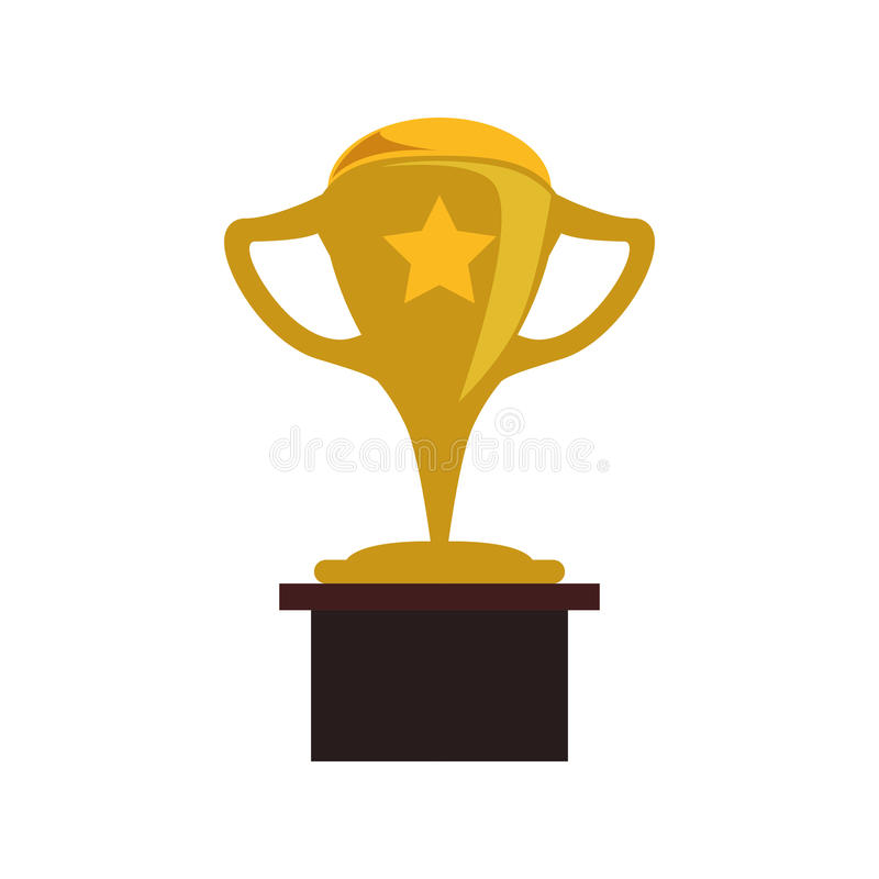 Campeonato do copo do troféu ilustração do vetor