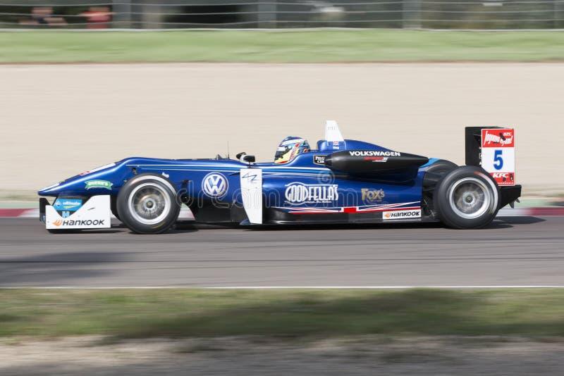 Campeonato do europeu de Fia Formula 3 fotos de stock