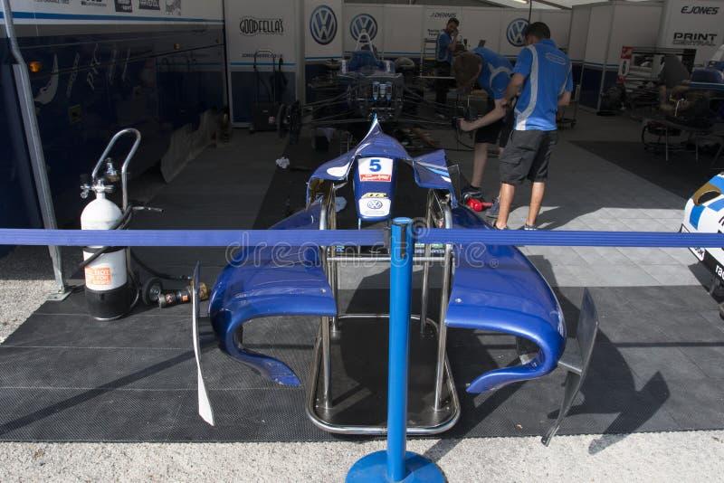 Campeonato do europeu de Fia Formula 3 imagens de stock