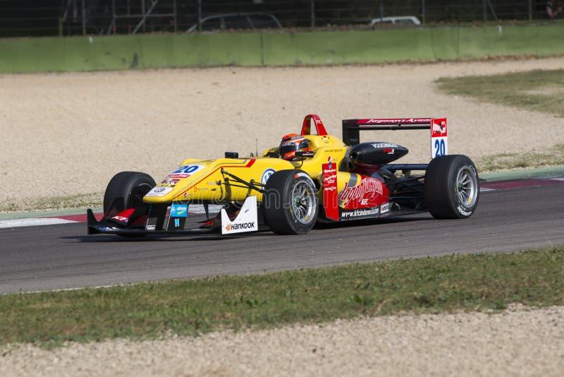 Campeonato do europeu de Fia Formula 3 fotografia de stock